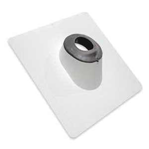 Picture of Duraflo 551103BL Roof Flashing, 16.2 in OAL, 16.2 in OAW, Plastic
