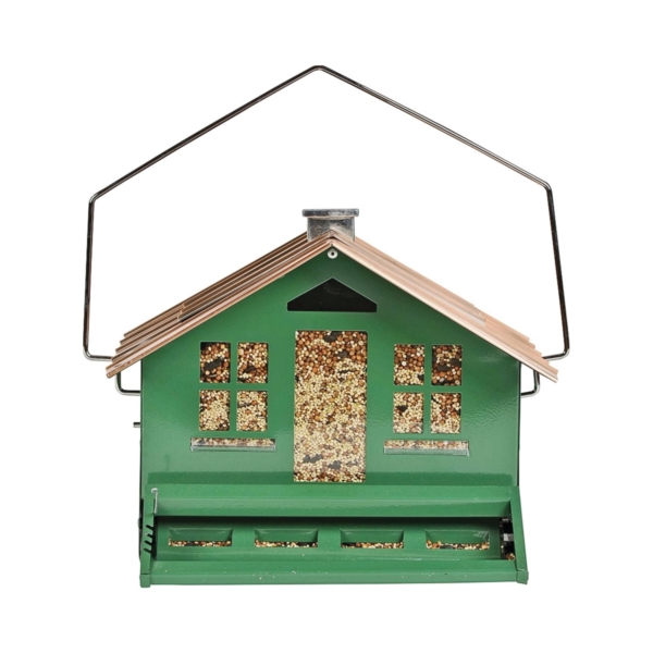 Picture of Perky-Pet 339 Squirrel-Proof Wild Bird Feeder, Home, 8 lb, Metal, Hanging/Pole Mounting