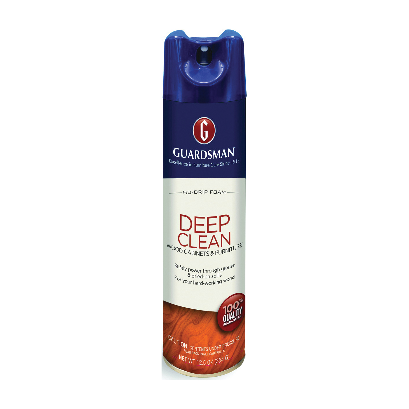 Picture of GUARDSMAN Deep Clean 460500 Wood Cleaner, 12.5 oz Package, Aerosol Can, Liquid