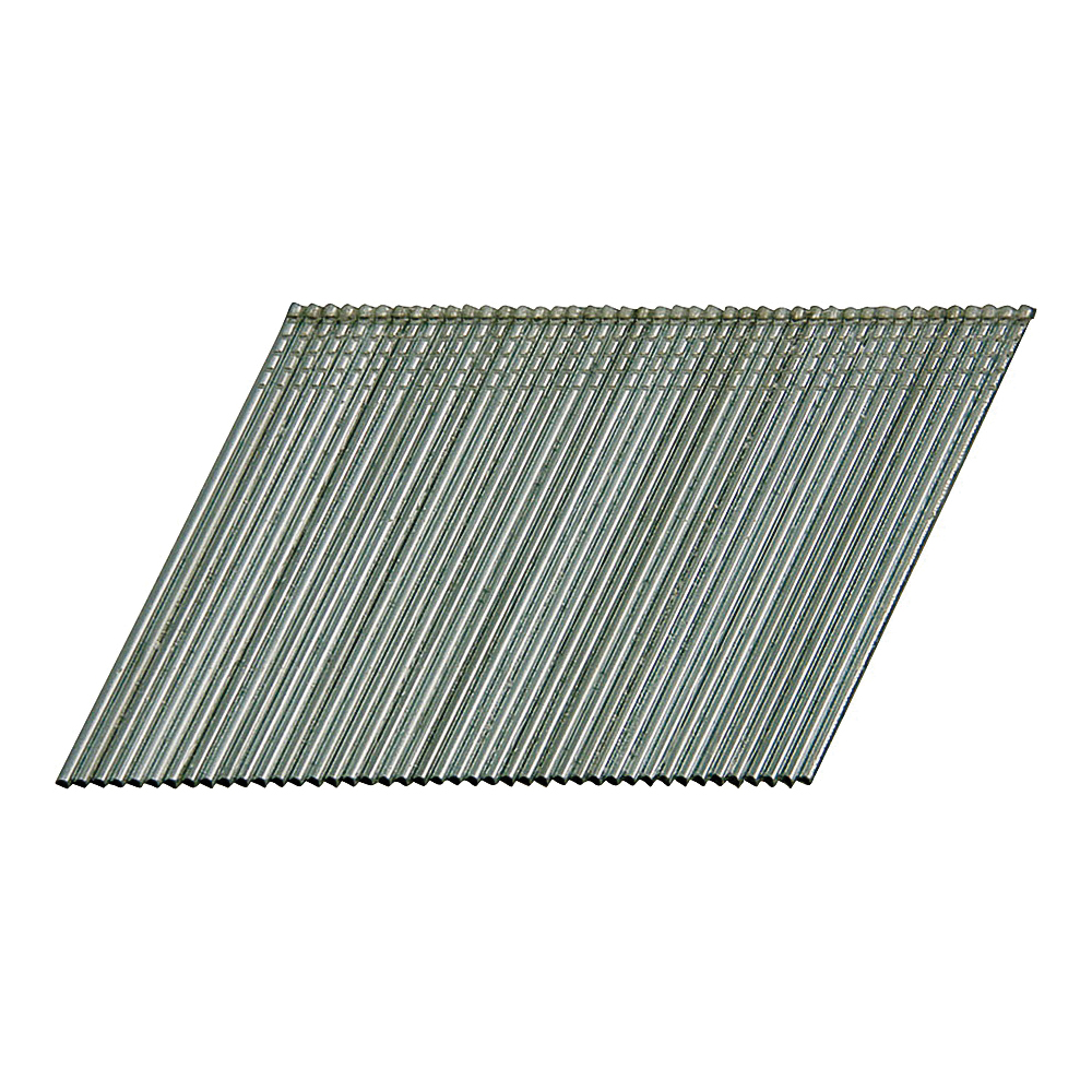 Picture of Bostitch FN1520 Finish Nail, 1-1/4 in L, 15 Gauge, Galvanized Steel, Coated, Round Head, Smooth Shank