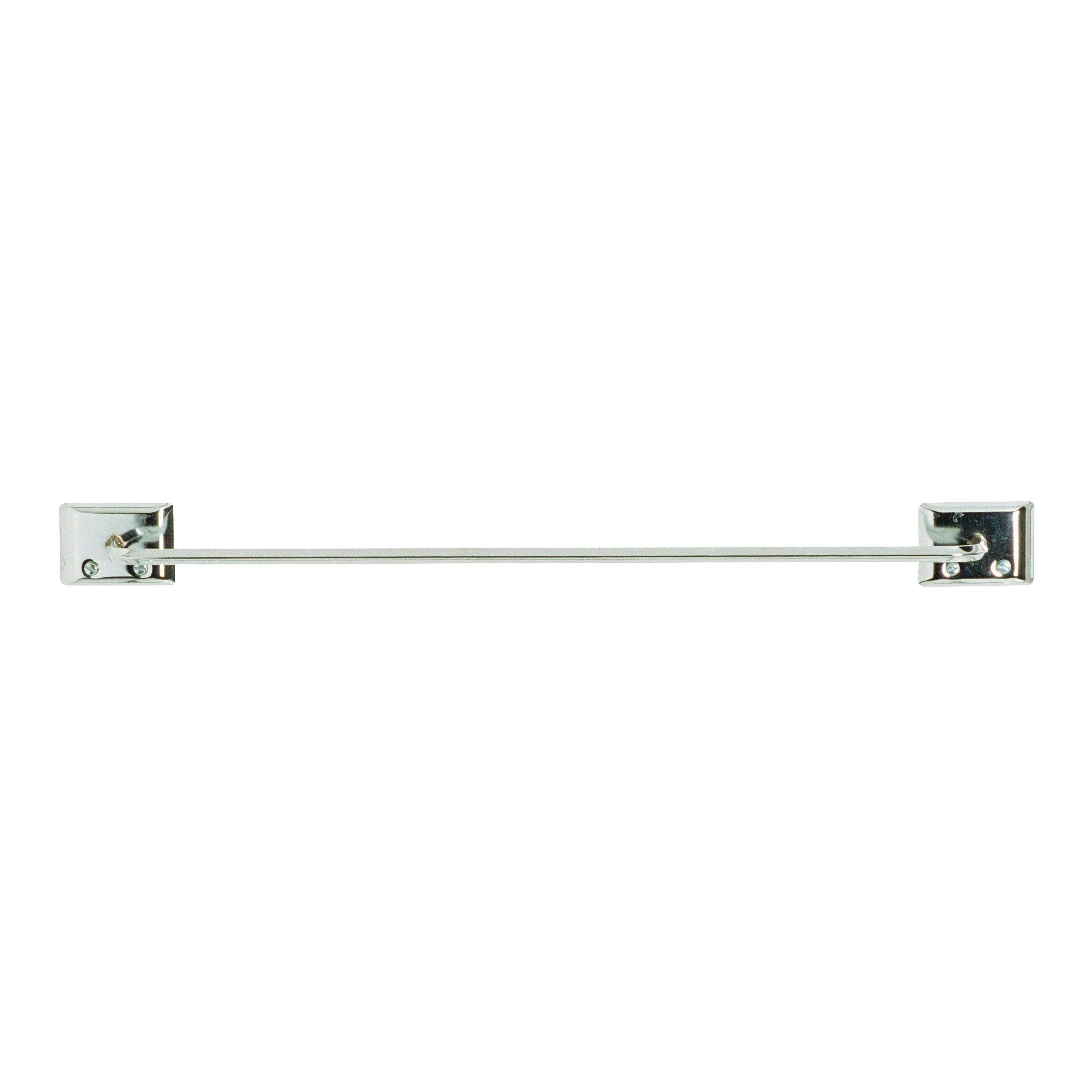 Picture of DECKO 38110 Towel Bar, 18 in L Rod, Steel, Chrome, Surface Mounting
