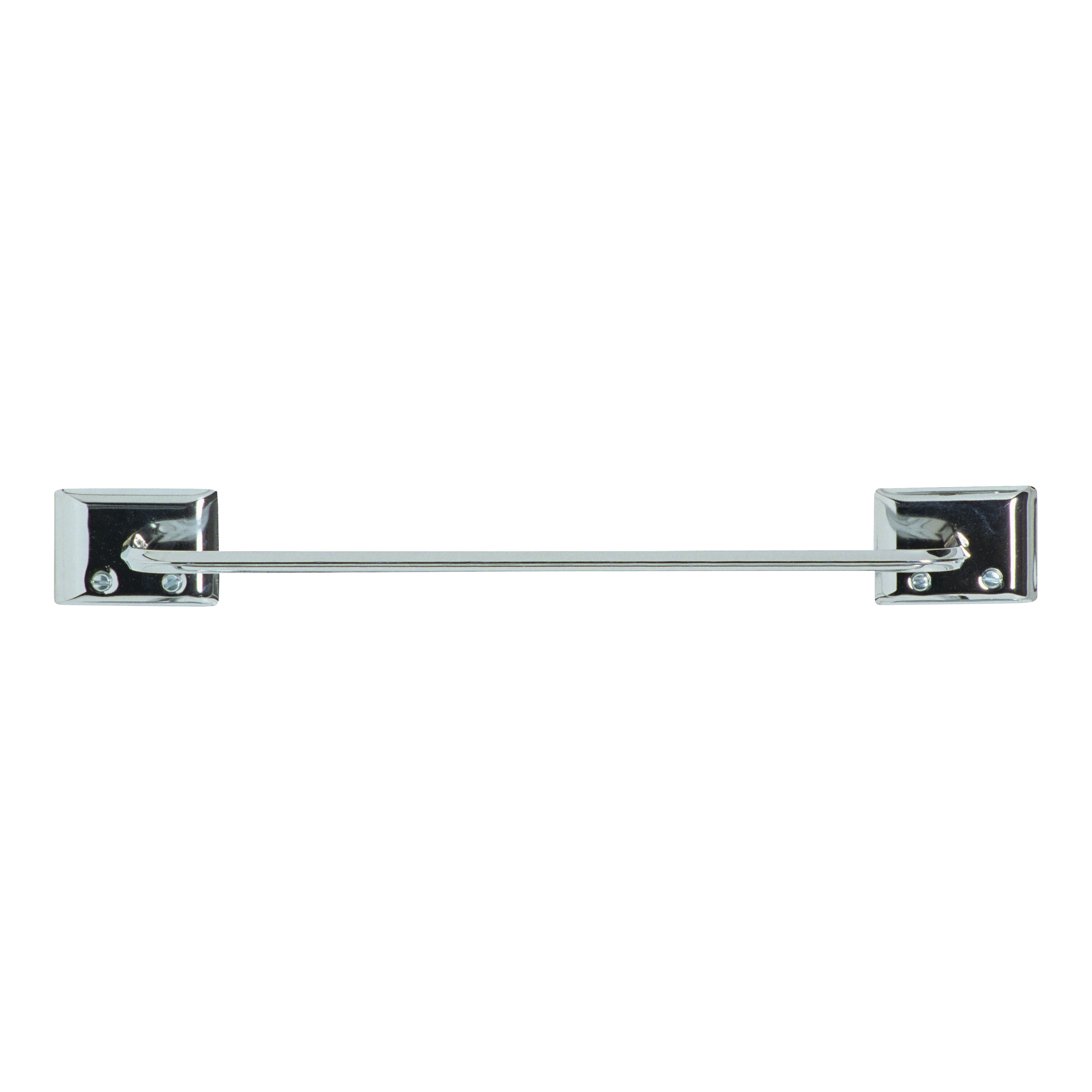 Picture of DECKO 38120 Towel Bar, 12 in L Rod, Steel, Chrome, Surface Mounting