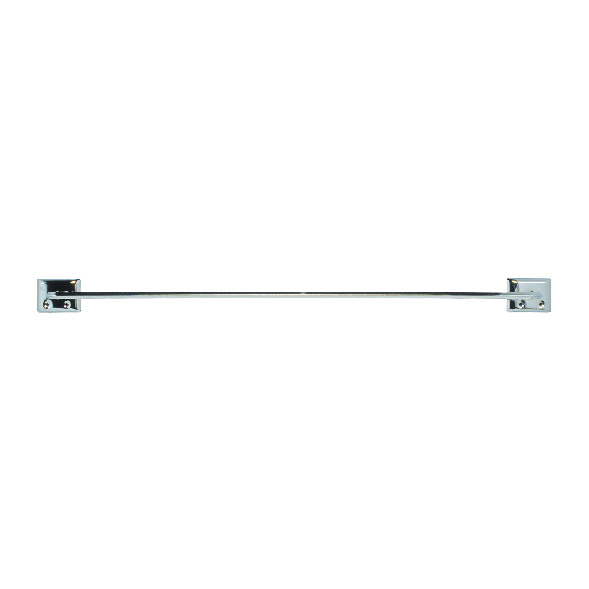 Picture of DECKO 38170 Towel Bar, 24 in L Rod, Steel, Chrome, Surface Mounting
