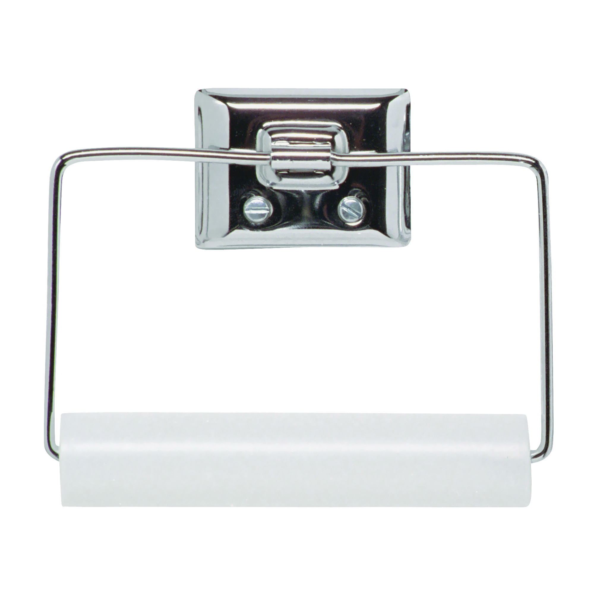 Picture of DECKO 38090 Toilet Paper Roller, Steel, Chrome