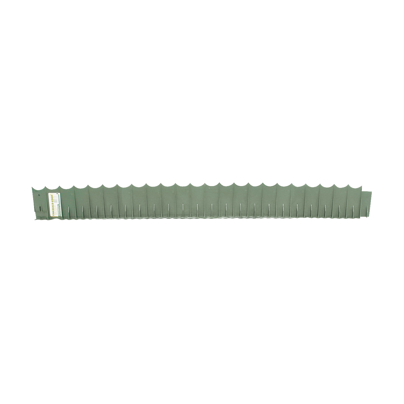 Picture of Jobes 8748 Landscape Edging, 4 ft L, 5 in H, Plastic, Green