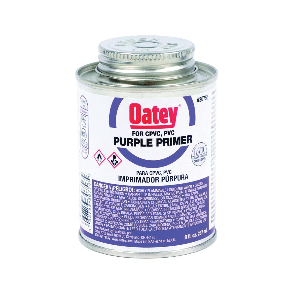Picture of Oatey 30756 Primer, Liquid, Purple, 8 oz Package, Pail