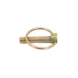 Picture of SpeeCo S07090800 Lynch Pin, 7/16 in Dia Pin, 2-5/16 in OAL, Steel, Yellow Zinc Dichromate