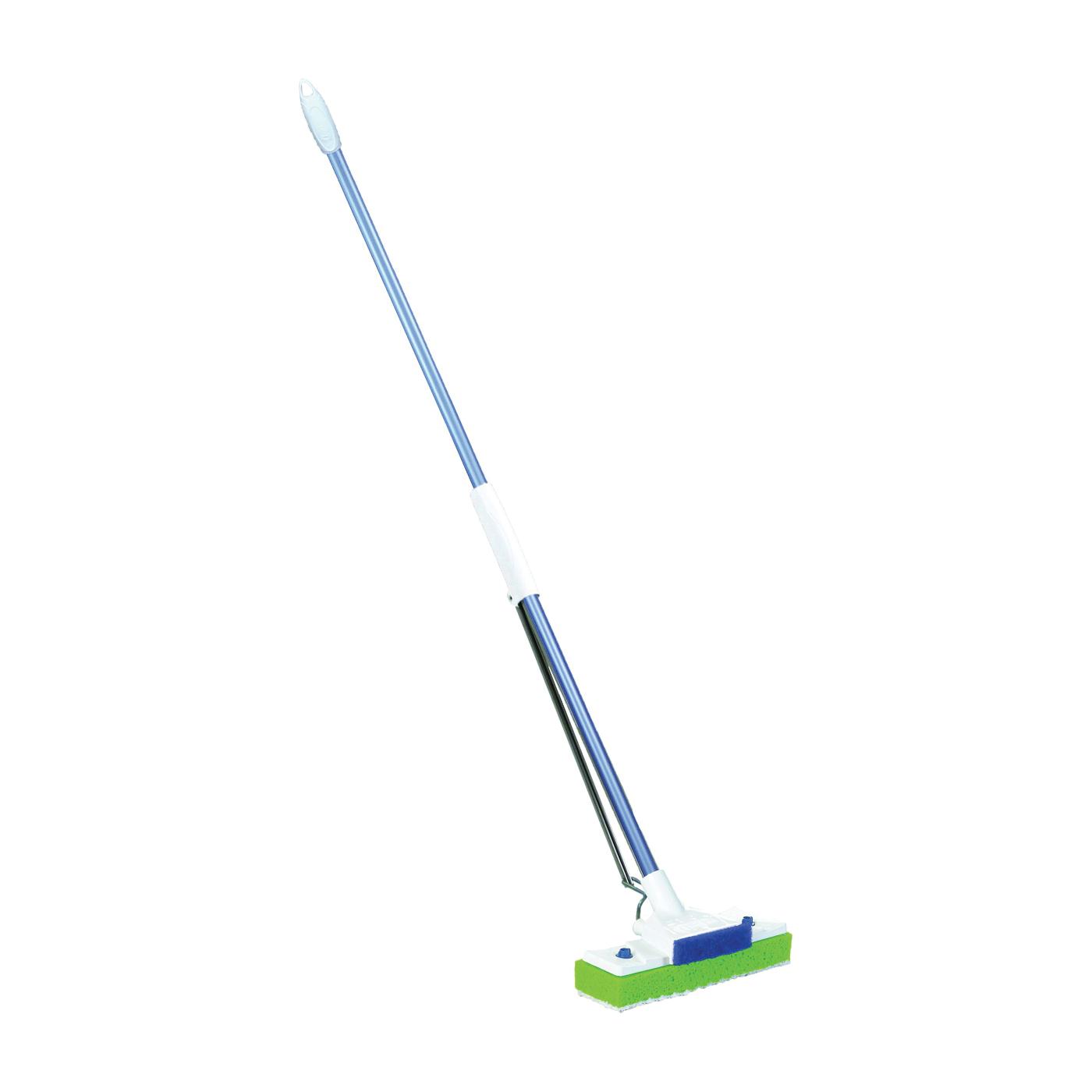Picture of Quickie 045HPM Sponge Mop, Microfiber Cloth Mop Head, Steel Handle