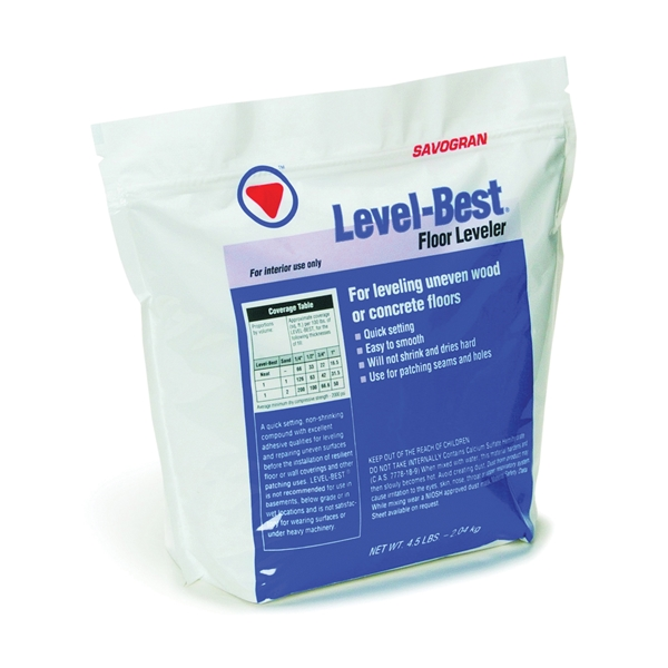 Picture of SAVOGRAN Level-Best 12832 Floor Leveler, Off-White, 4.5 lb Package, Box