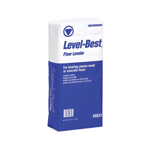 Picture of SAVOGRAN Level-Best 14834 Floor Leveler, Off-White, 25 lb Package, Box