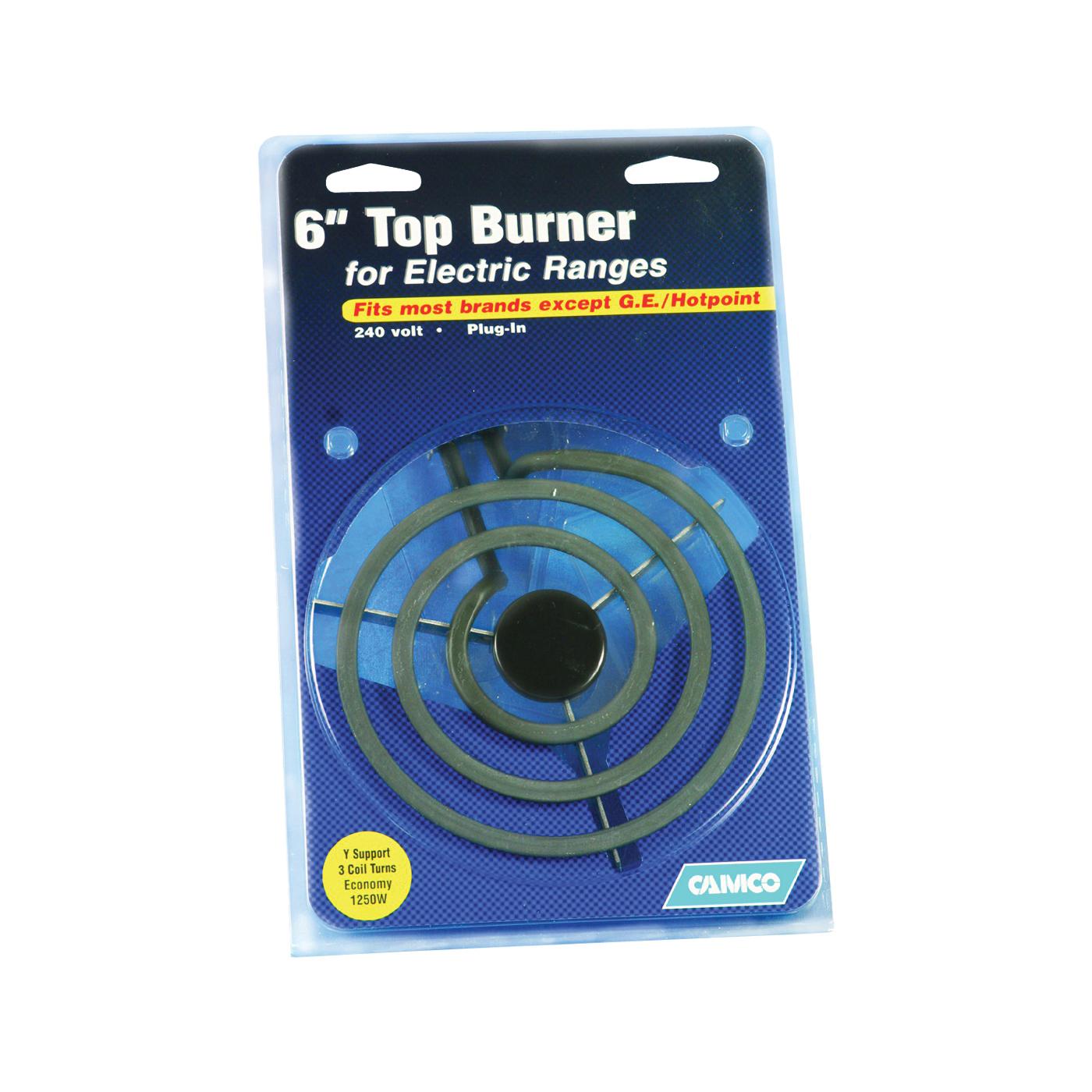 Picture of CAMCO 00143 Top Burner, 240 V, 1250 W, Plug