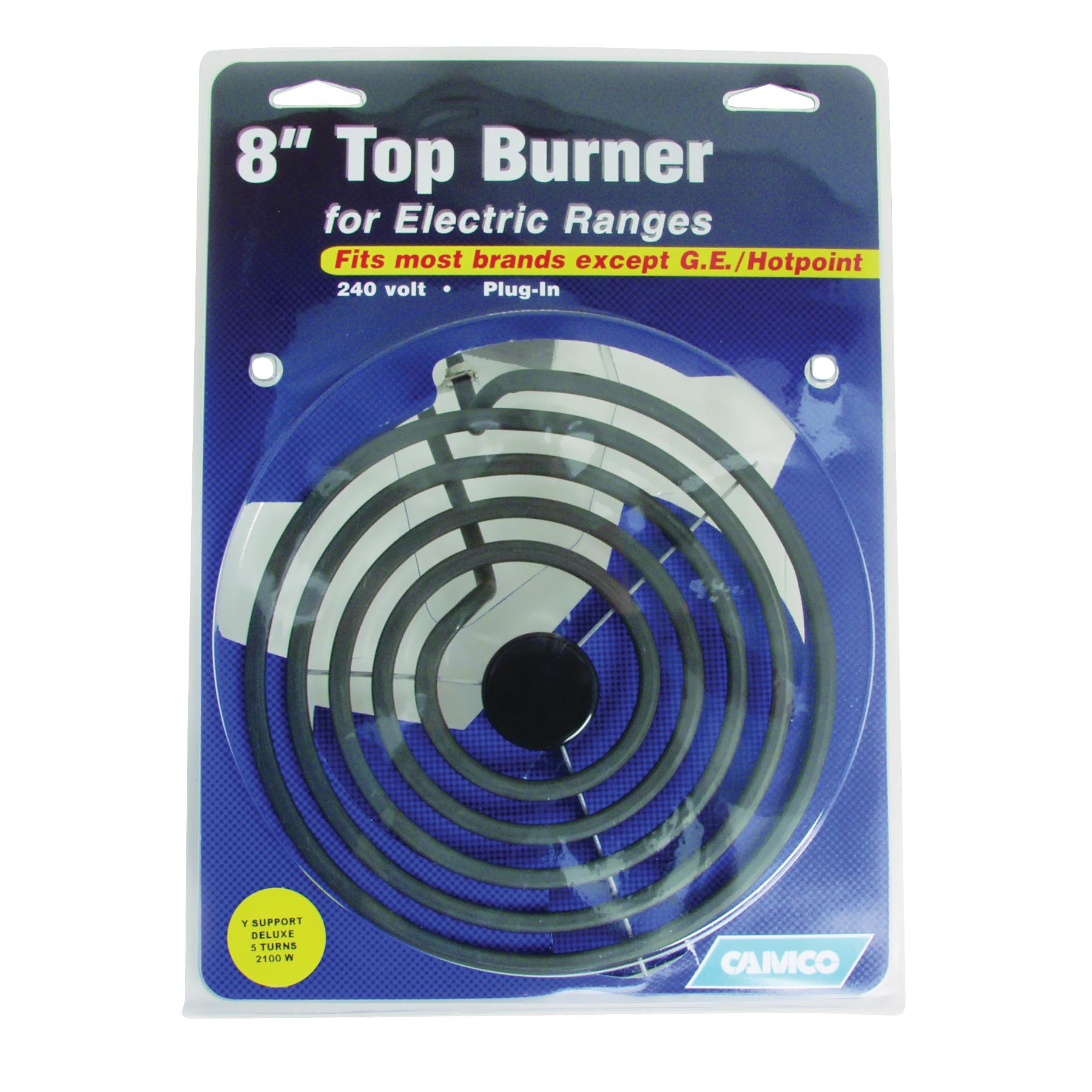 Picture of CAMCO 00253 Top Burner, 240 V, 2100 W, Plug