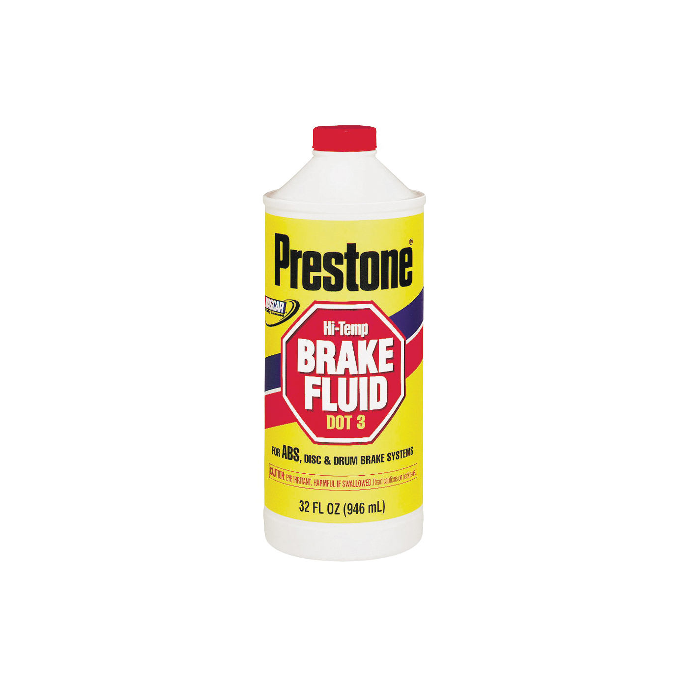 Picture of Prestone AS-401 Brake Fluid Clear Amber/Yellow, 32 oz Package, Bottle