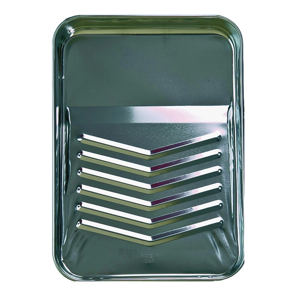 Picture of Linzer RM400 Paint Tray, 11-1/4 in L, 15-1/4 in W, 1 qt Capacity, Metal