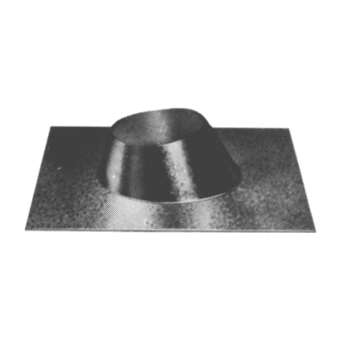 Picture of AmeriVent 6FFU Roof Vent Flashing, Galvanized Steel