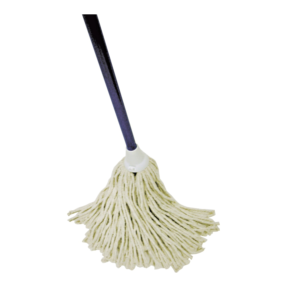 Picture of Quickie 024-4 Deck Mop, 48 in L, Cotton Mop Head, Steel Handle