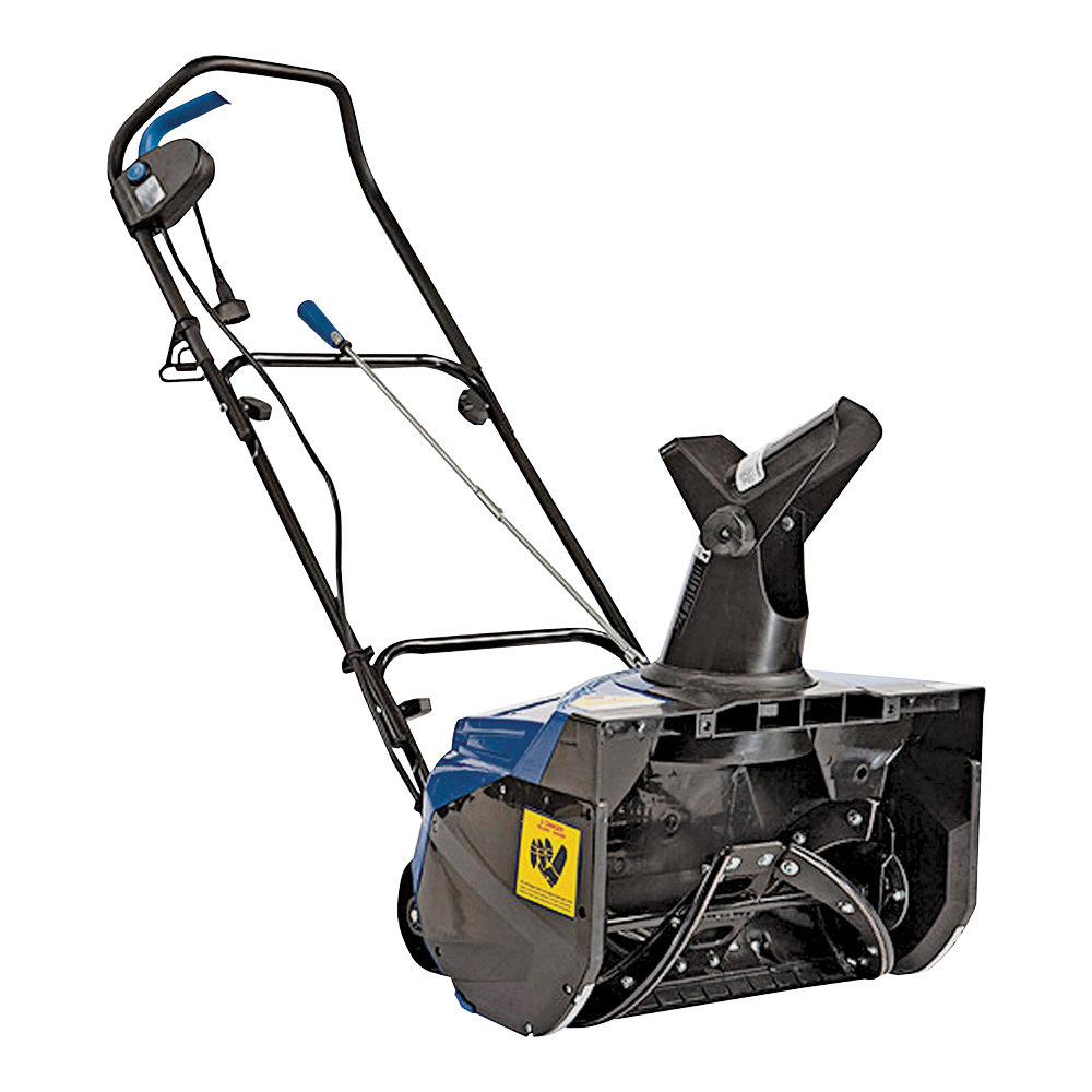 Picture of Snow Joe SJ620 Snow Thrower, 13.5 A, 1 -Stage, 18 in W Cleaning, 20 ft Throw