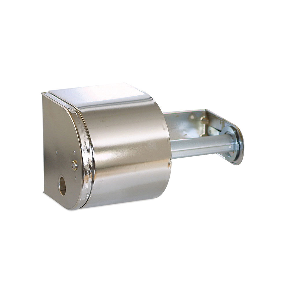 Picture of NORTH AMERICAN PAPER 57320 Tissue Dispenser, 4-1/2 in W Roll, 5 in Dia Roll, Steel, Chrome