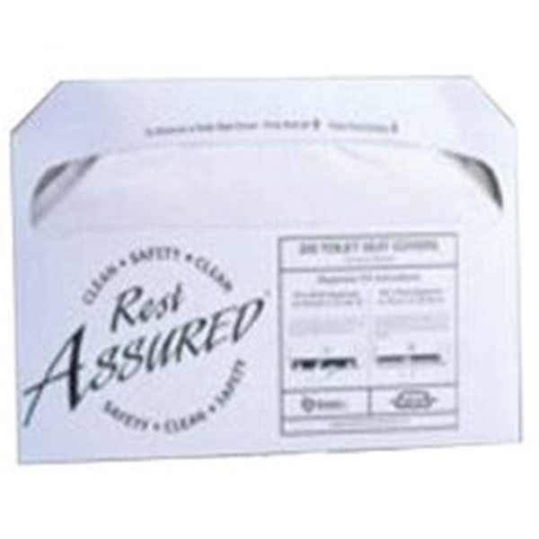Picture of NORTH AMERICAN PAPER 886307 Toilet Seat Cover, White