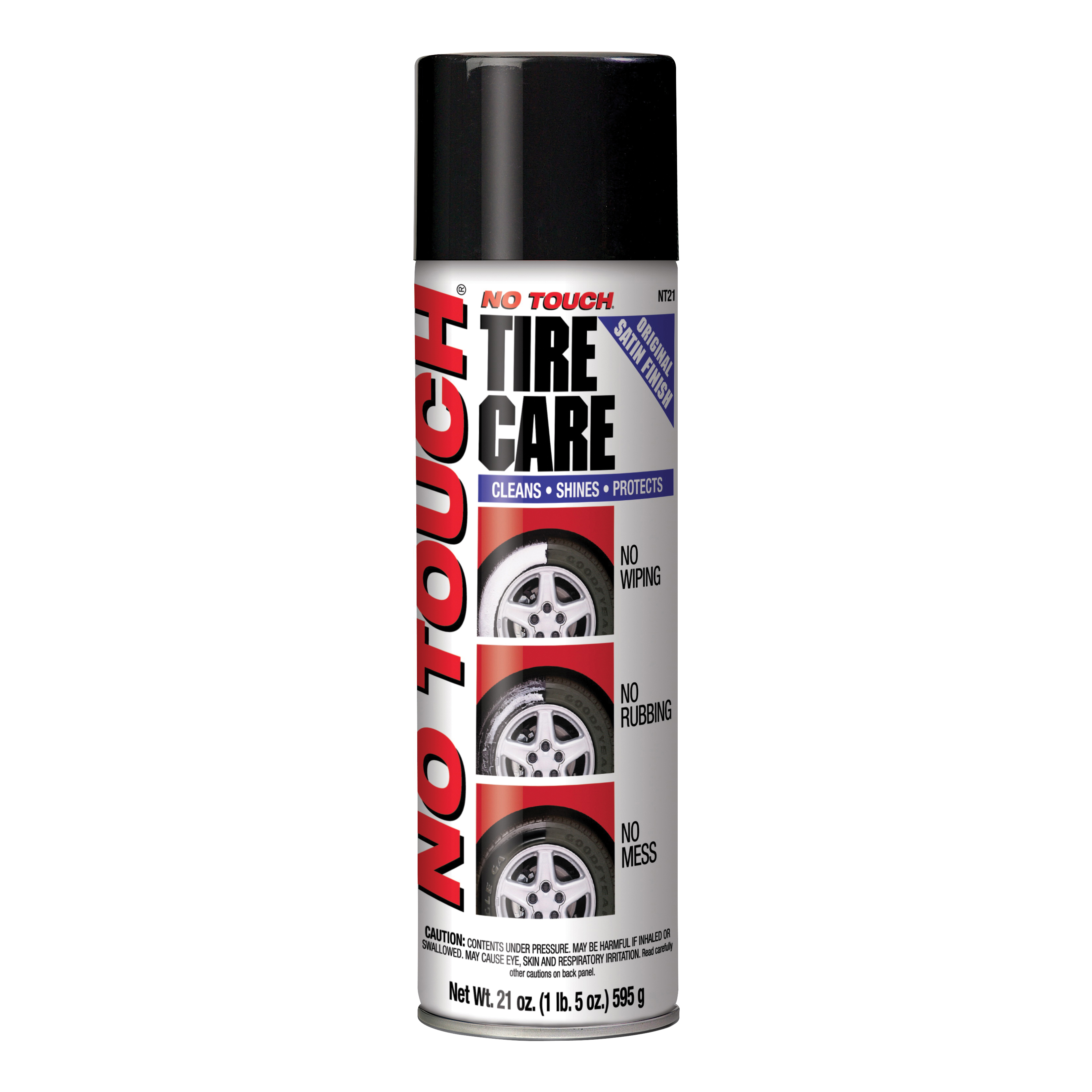 Picture of NO TOUCH NT-21 Tire Shine, 21 oz Package, Aerosol Can, Liquid, Slight