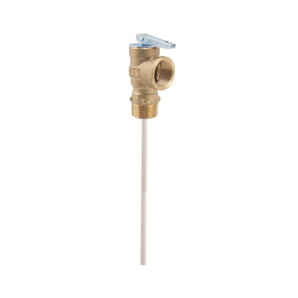 Picture of WATTS 100XL-8-150 Relief Valve, 3/4 in, MNPT x FNPT, Brass Body