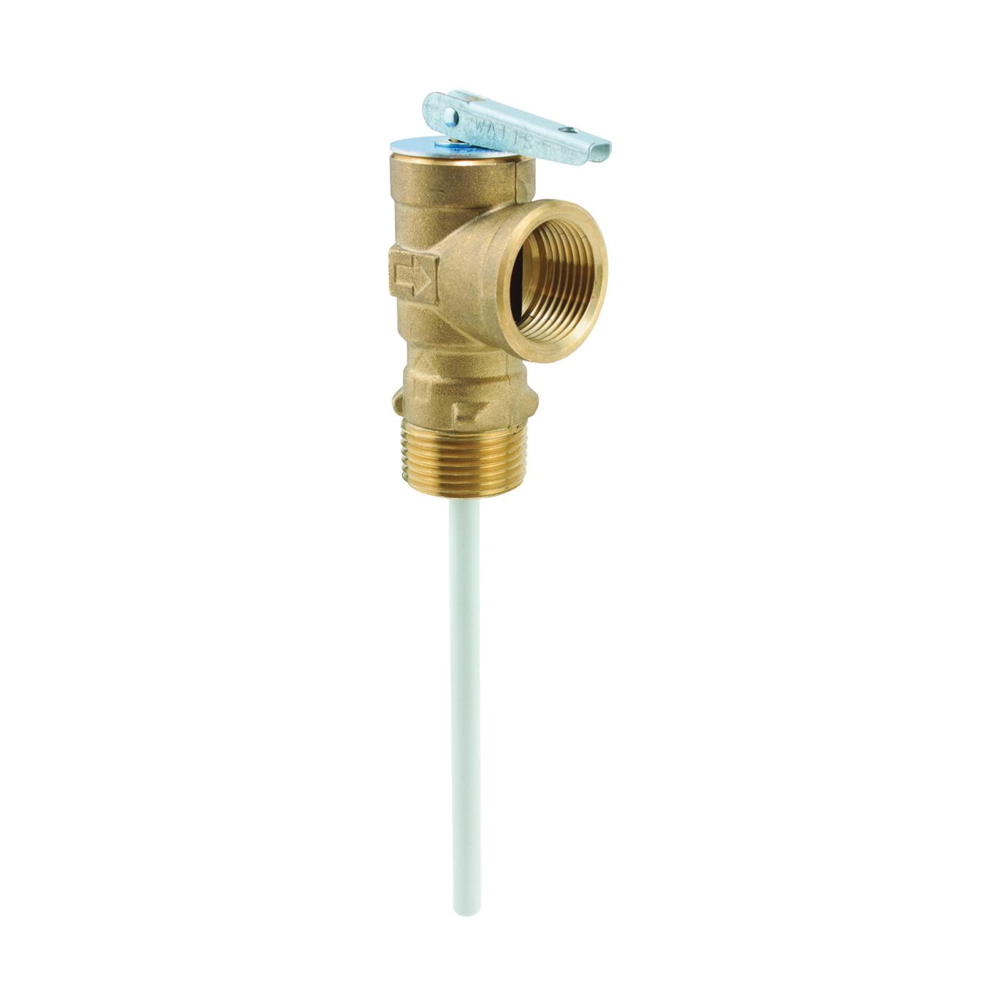 Picture of WATTS 100XL-150 Relief Valve, 3/4 in, MNPT x FNPT, Brass Body