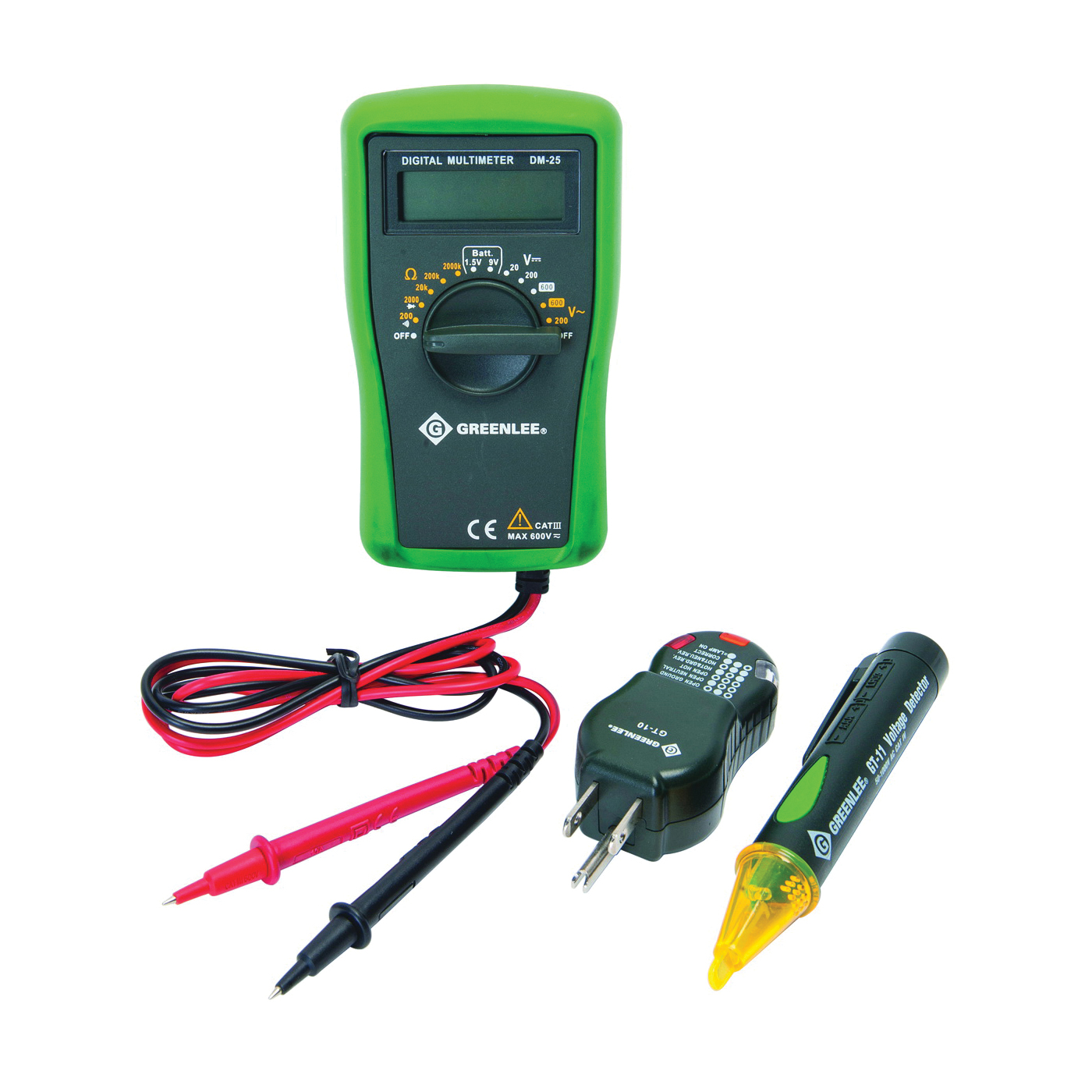 Picture of Greenlee TK-30A Basic Electrical Kit, 3 -Piece
