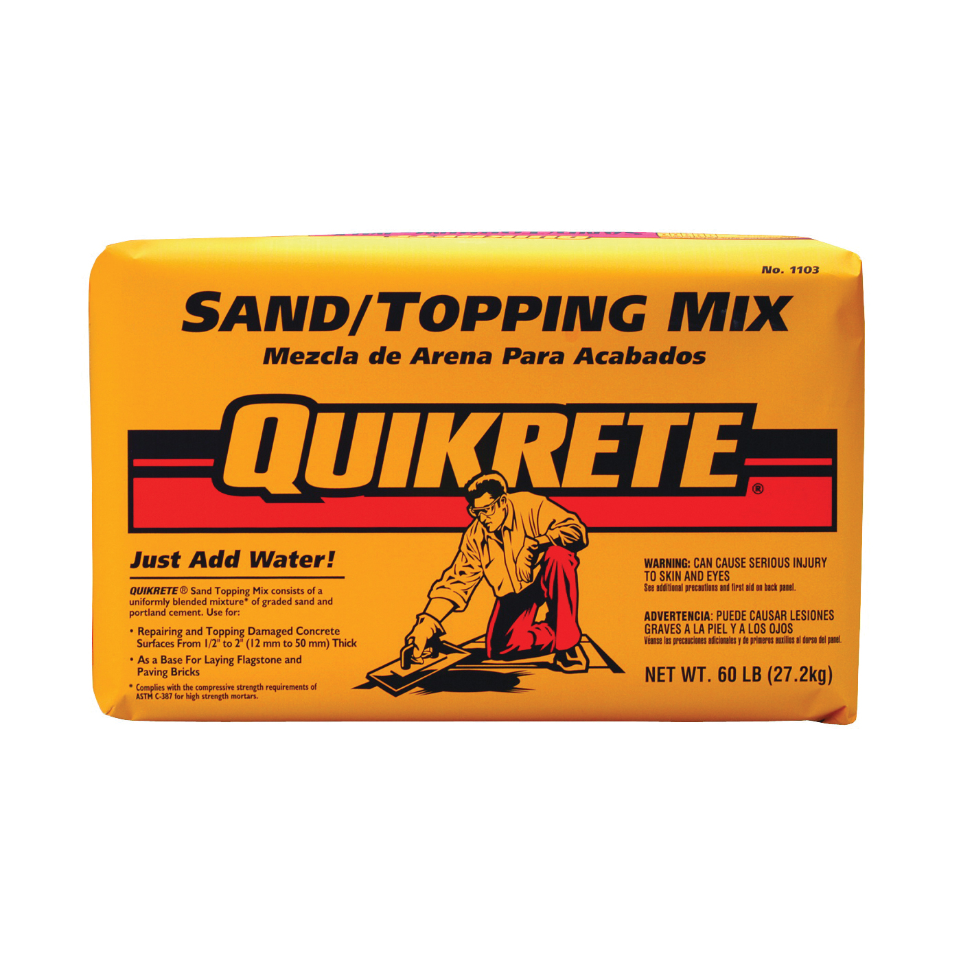 Picture of Quikrete 1103-60 Sand/Topping Mix
