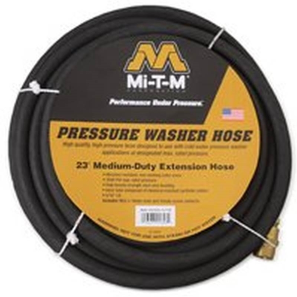 Picture of Mi-T-M AW-0050-0176 Pressure Washer Hose, 5/16 in, 23 ft L, Plug