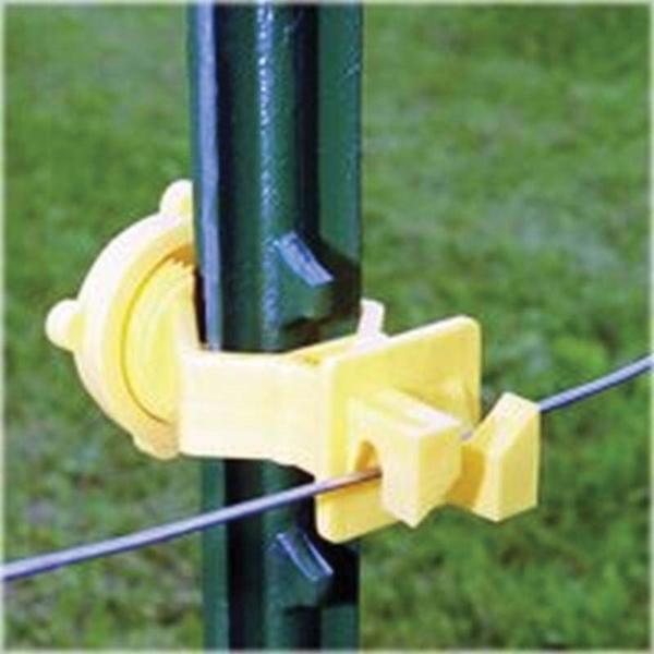 Picture of Zareba Fi-Shock ITSOY-FS* Screw-On Insulator, Yellow