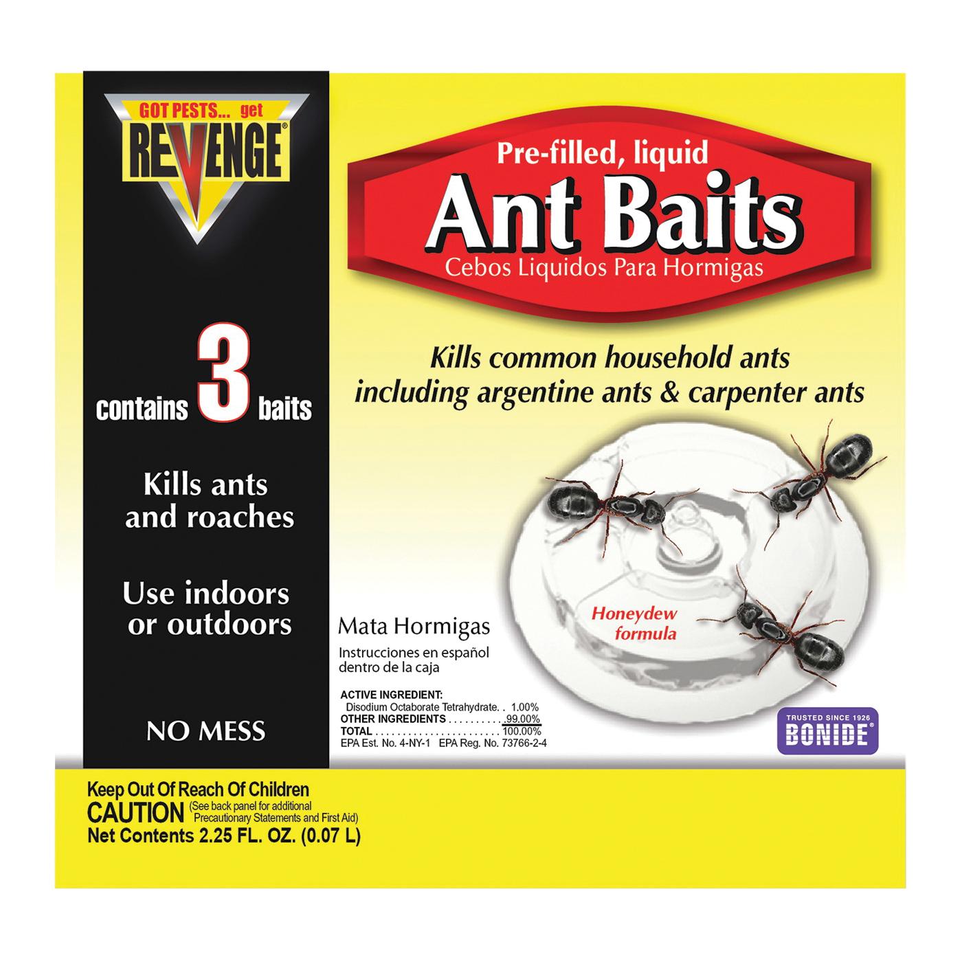 Picture of Bonide 45100 Ant Bait, Liquid, Sweet, 0.75 oz Package