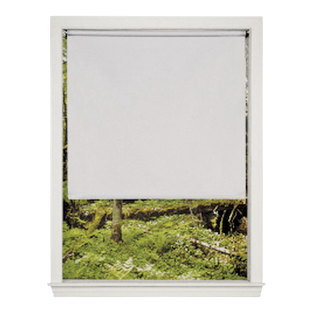 Picture of LEVOLOR SRSHWD7307801D Window Shade, 78 in L, 73 in W, 1-Ply, Vinyl, White