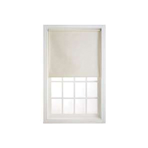 Picture of LEVOLOR SRSHWD7307803D Window Shade, 78 in L, 73 in W, 1-Ply, Vinyl, Cream
