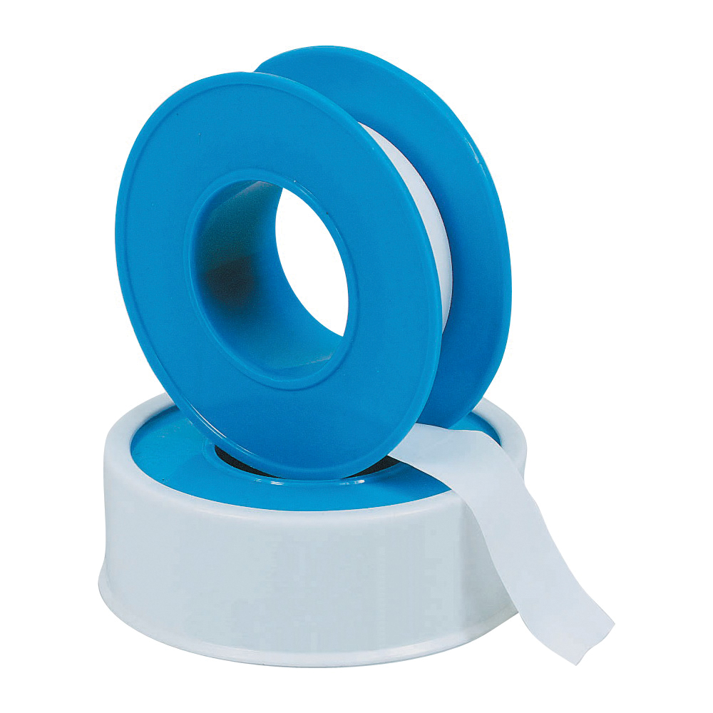 Picture of HARVEY 017031-144 Thread Seal Tape, 100 in L, 1/2 in W, PTFE, Blue/White