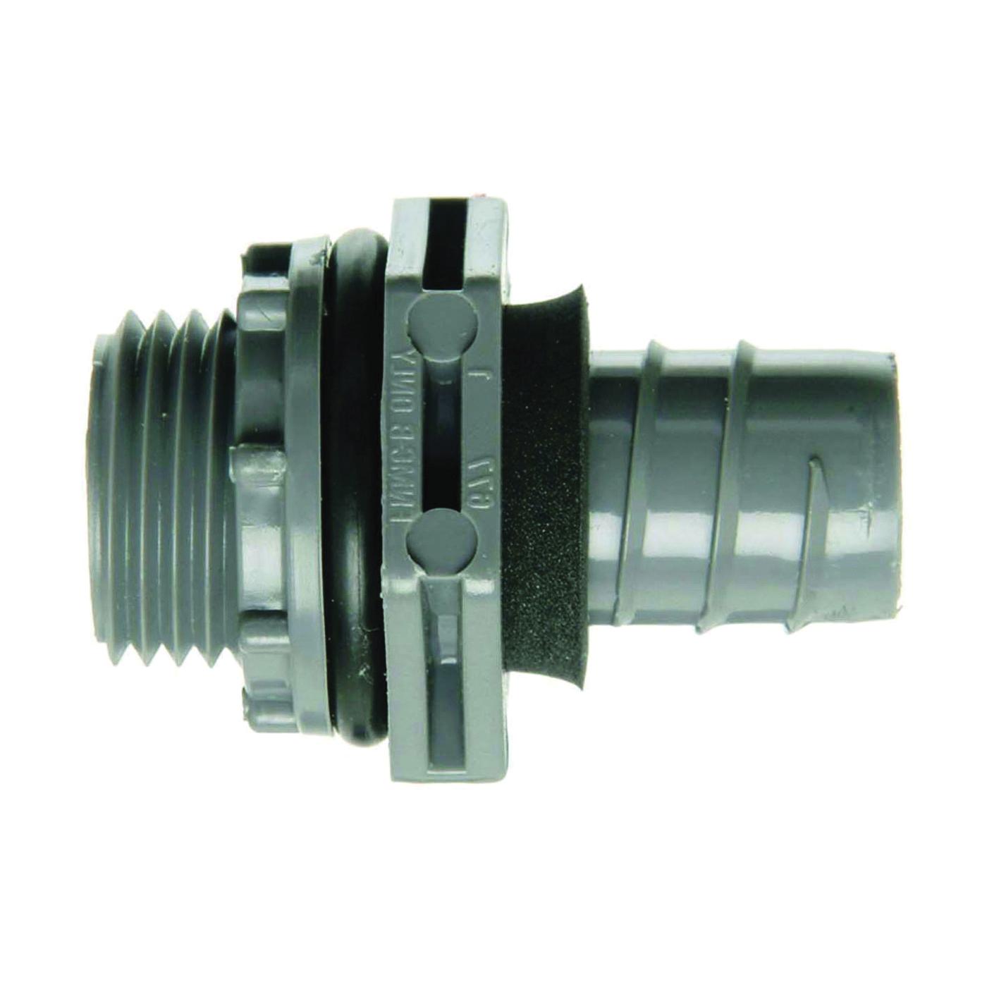 Picture of Carlon LN43EA-CTN Conduit Connector, 3/4 in Trade, NPT, 1.79 in L, PVC