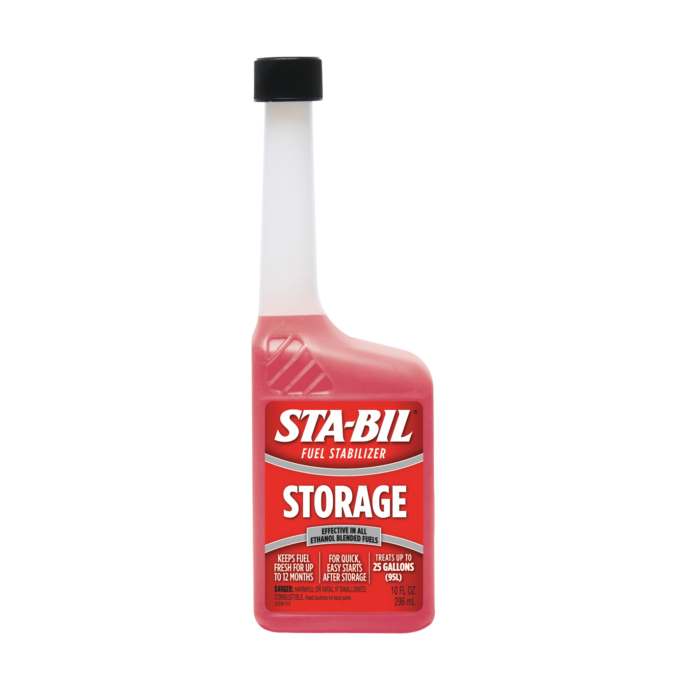 Picture of STA-BIL 22206 Fuel Stabilizer Red, 10 oz Package, Bottle