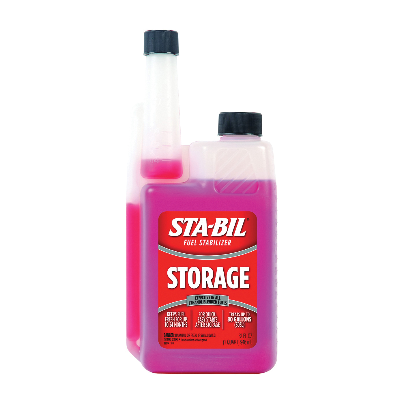 Picture of STA-BIL 22214 Fuel Stabilizer Red, 32 oz Package, Bottle