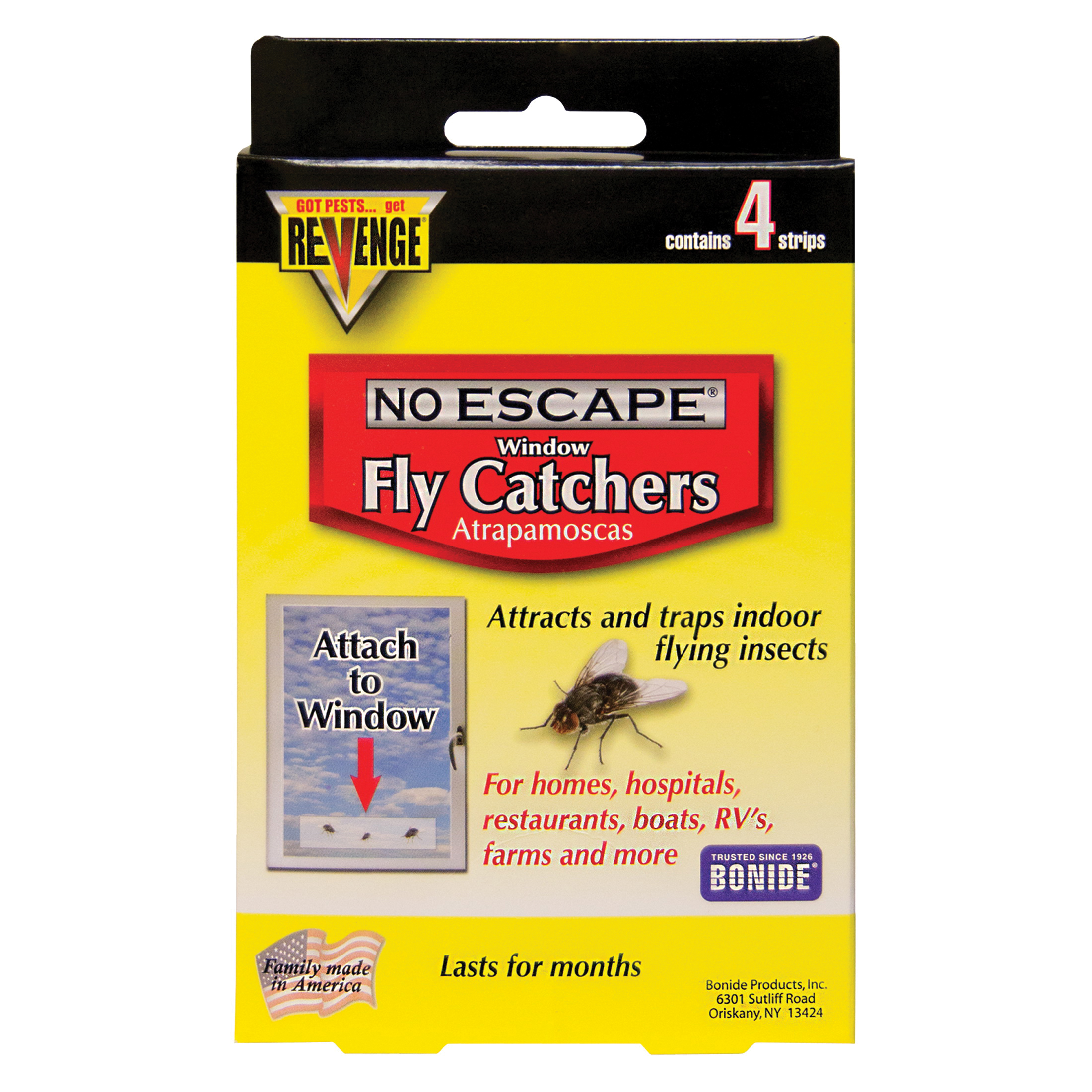 Picture of Bonide 46200 Fly Catcher, Solid, 4 Package, Pack