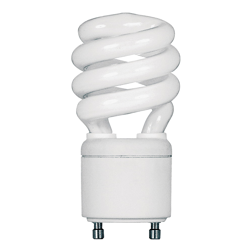 Picture of Feit Electric BPESL13T/GU24 Compact Fluorescent Light, 13 W, Spiral Lamp, GU24 Twist and Lock Lamp Base, 900 Lumens