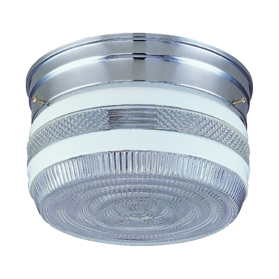 Picture of Boston Harbor F14CH02-80023L Ceiling Light Fixture, 2-Lamp, CFL Lamp, Polished Chrome Fixture