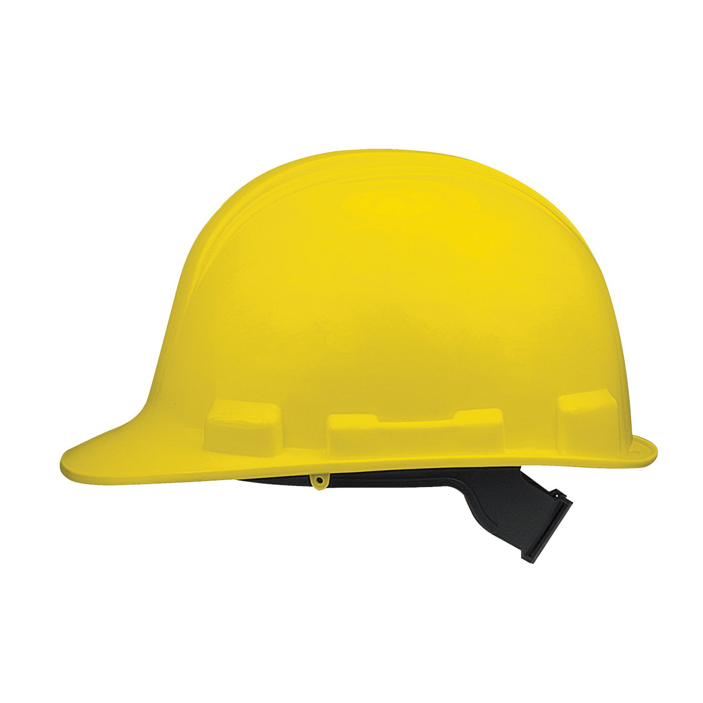 Picture of MSA SWX00345 Hard Hat, 4-Point Textile Suspension, HDPE Shell, Yellow, Class: E