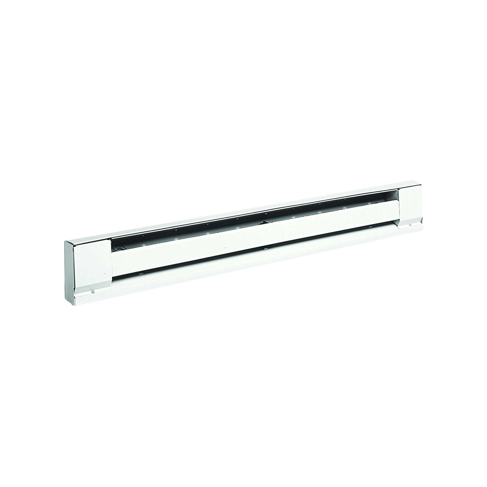 Picture of TPI 2900S Series H2905-028S Baseboard Heater, 2.1/1.8 A, 208/240 V, 1706/1275 Btu/hr BTU, Ivory