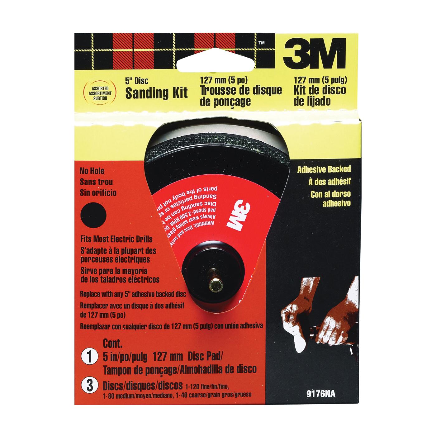Picture of 3M SandBlaster 9176 Sanding Disc Kit, 5 in Dia