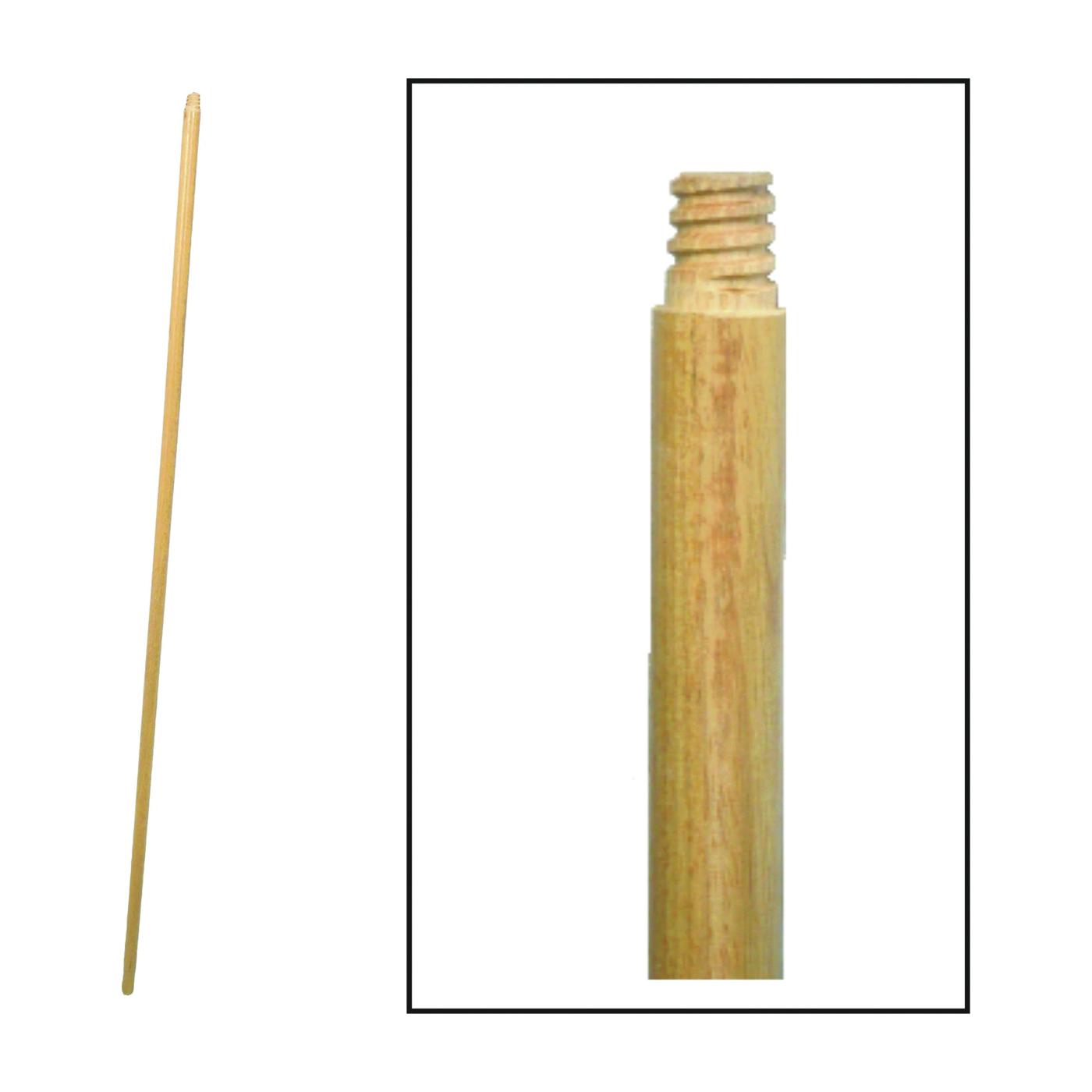 Picture of BIRDWELL 532-12 Broom Handle, 15/16 in Dia, 48 in L, Threaded, Hardwood