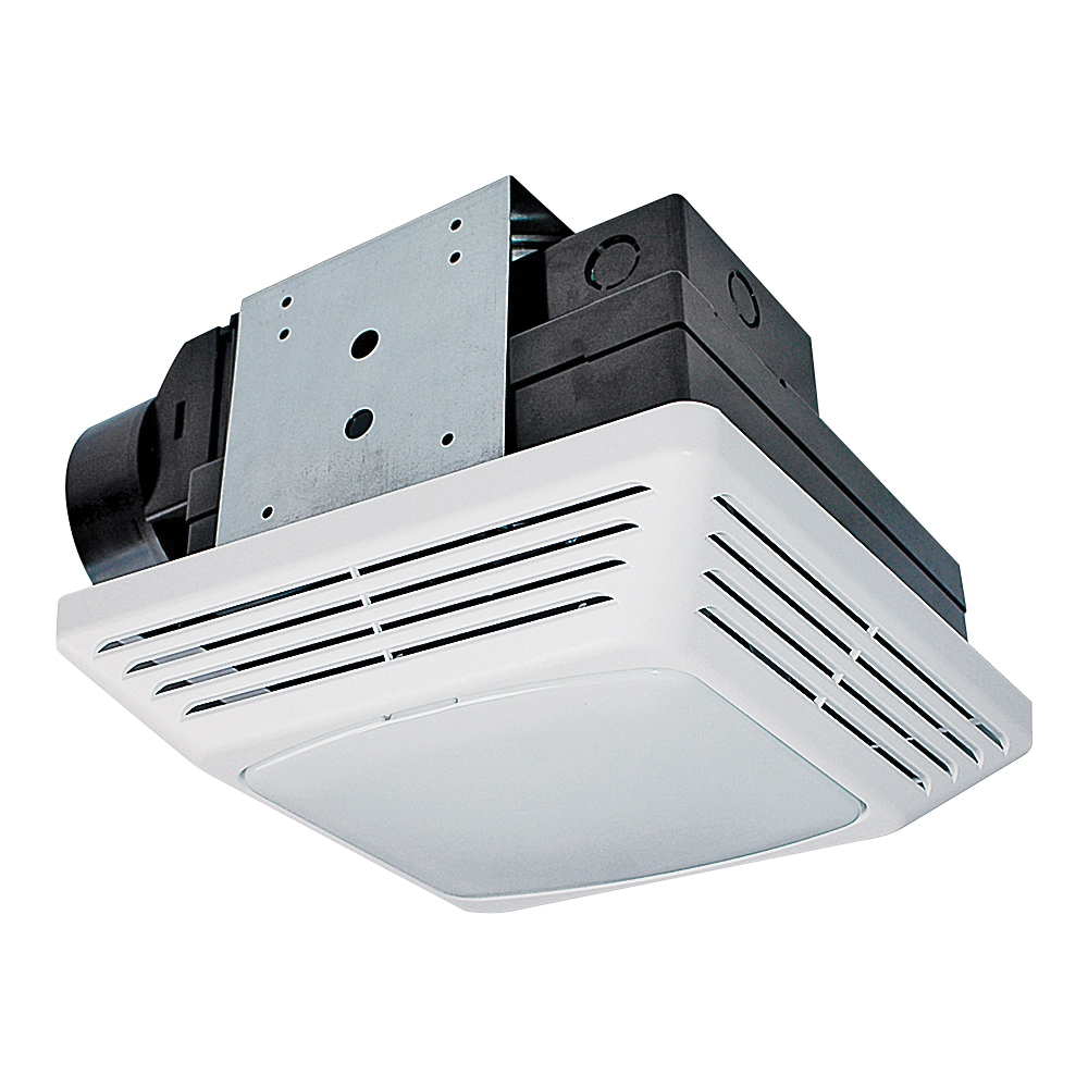 Picture of Air King BFQF70 Exhaust Fan, 120 V, 70 cfm Air, 2 Sones, Fluorescent Lamp, 4 in Duct