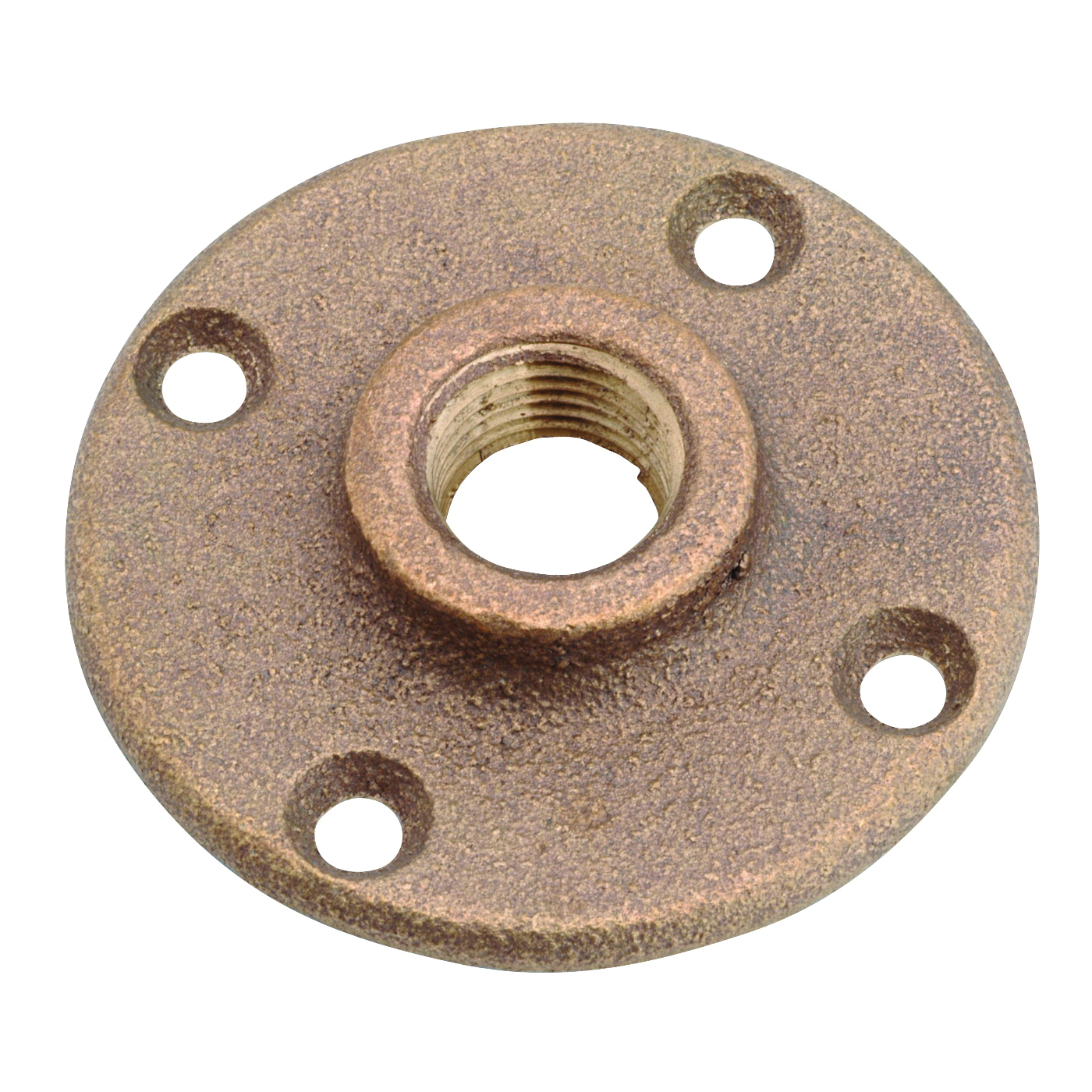 Picture of Anderson Metals 38151-12 Floor Flange, 3/4 in, 4-Bolt Hole, Brass