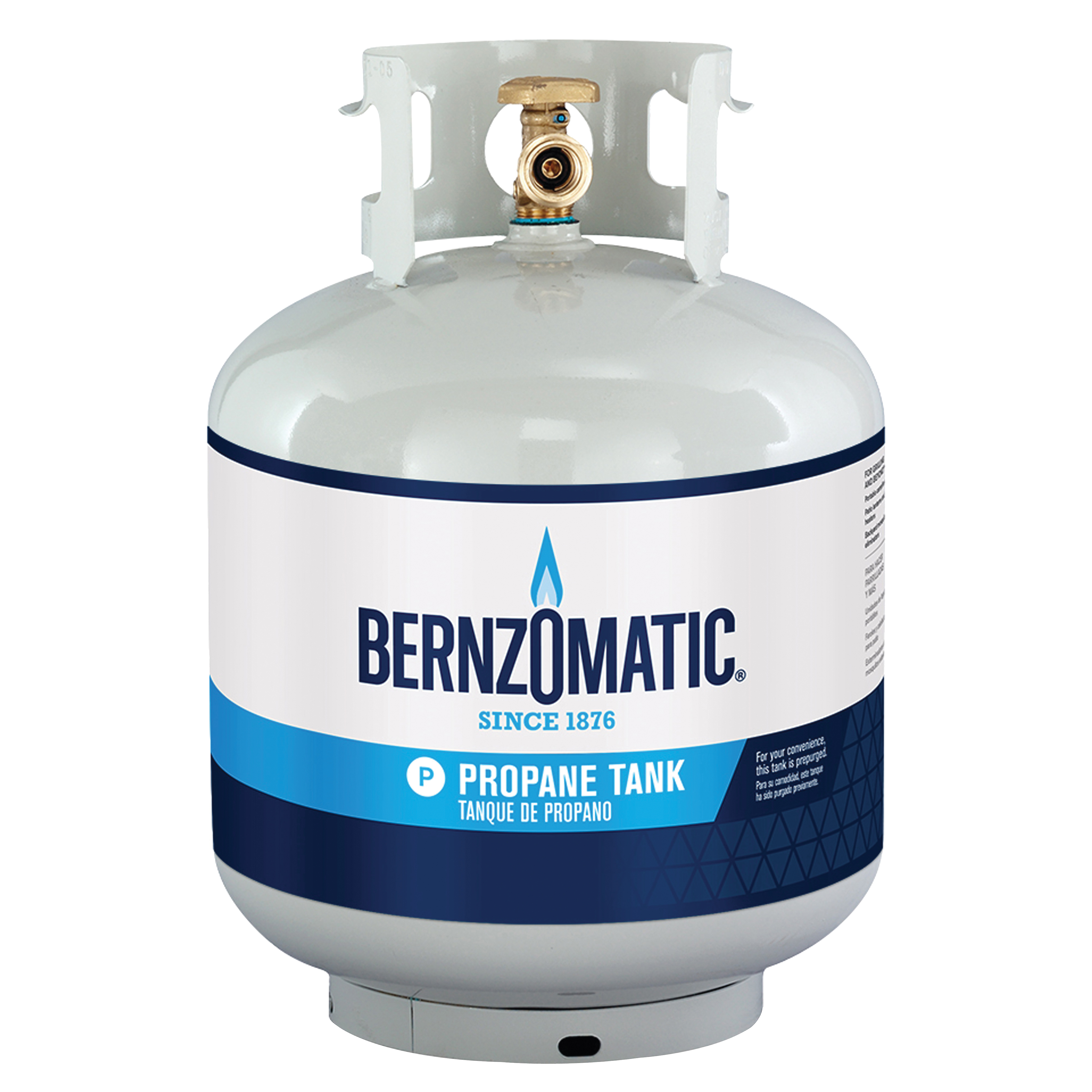 Picture of BernzOmatic 20 LB Propane Gas Cylinder, 5 GAL Steel Tank, 12-3/8 in Dia, 18-1/16 in H