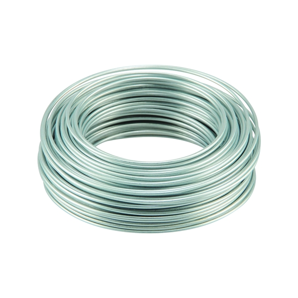 Picture of HILLMAN 50132 Utility Wire, 50 ft L, 19 Gauge, Galvanized Steel