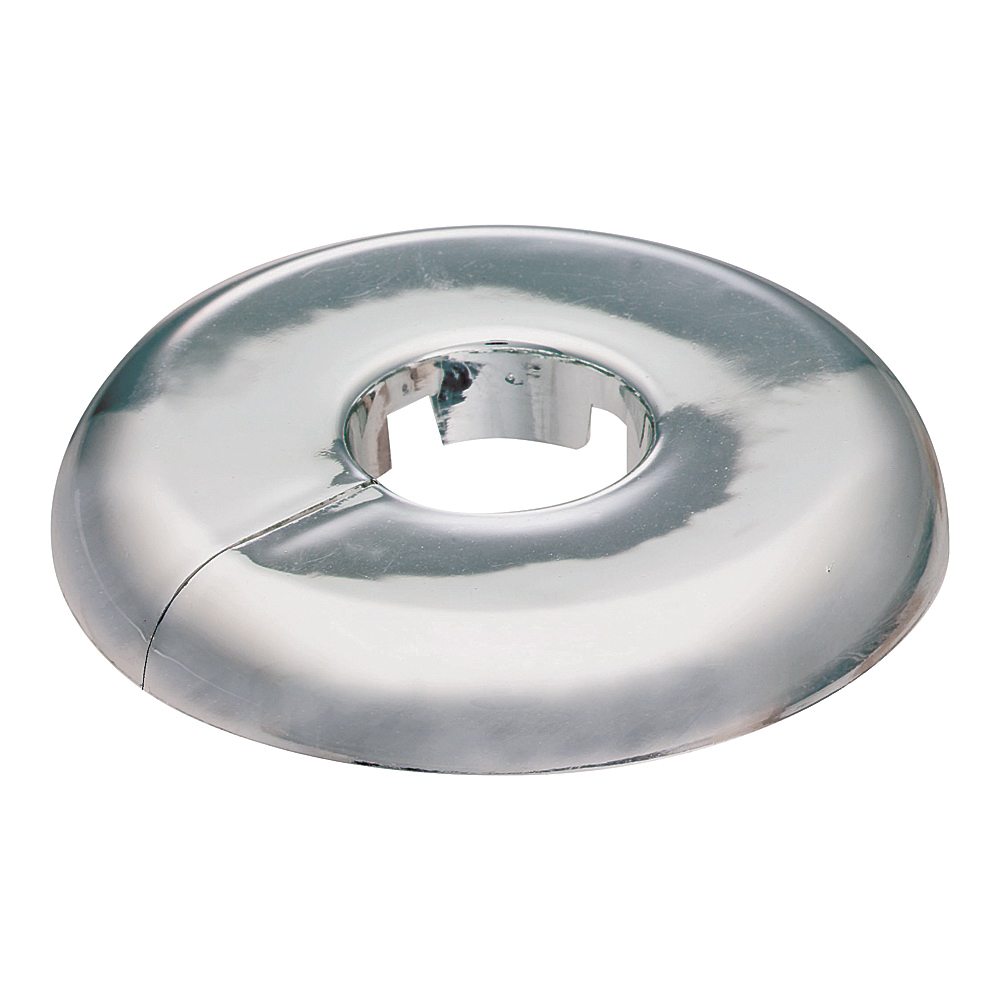 Picture of Plumb Pak PP811-31 Floor and Ceiling Plate, 3-1/2 in W, Plastic, Chrome