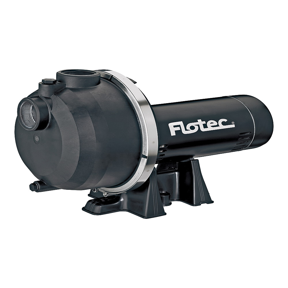 Picture of Flotec FP5172-08 Sprinkler Pump, 9.6/19.2 A, 115/230 V, 1-1/2, 1-1/2 in Outlet, 25 ft Max Discharge Head, 67 gpm